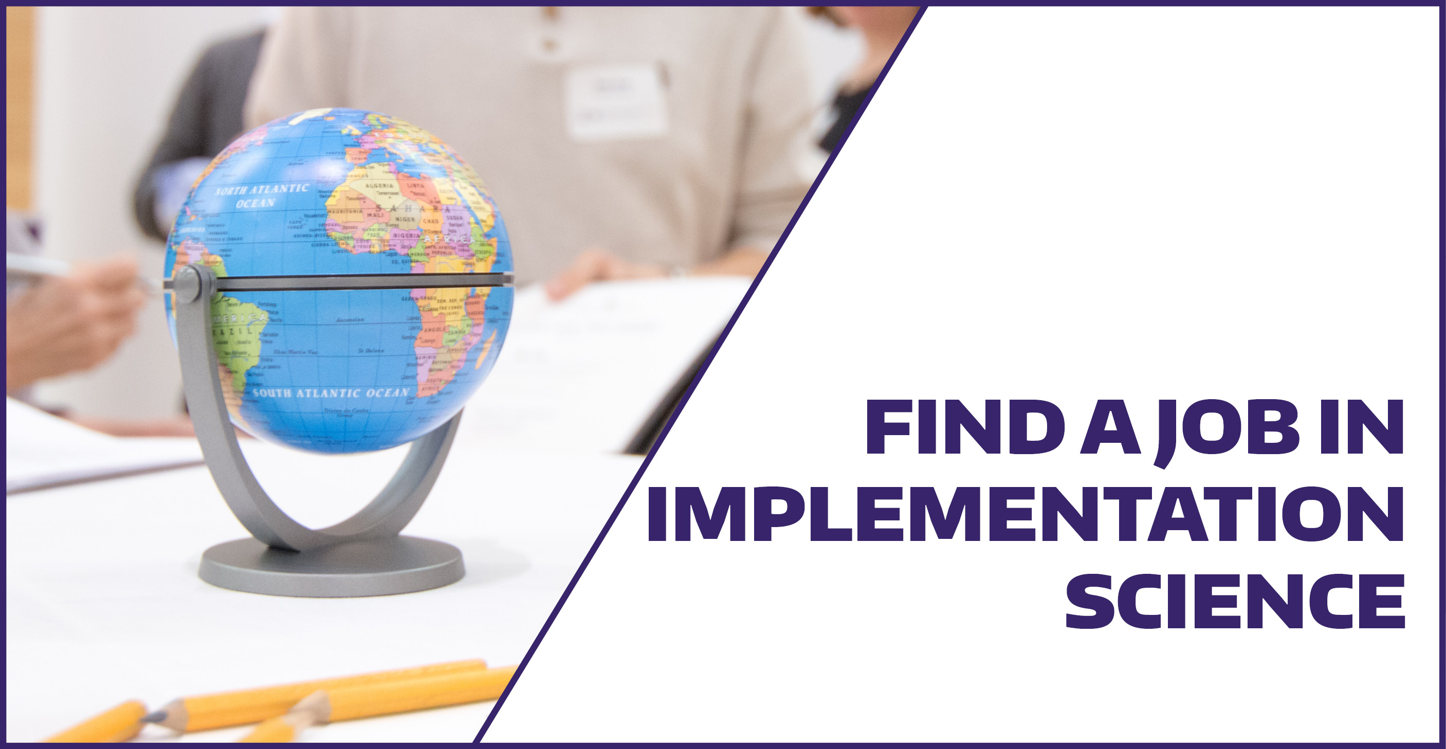 Find a job in implementation science