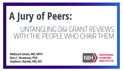 A Jury of Peers: Untangling D&I Grant Reviews With the People Who Chair Them